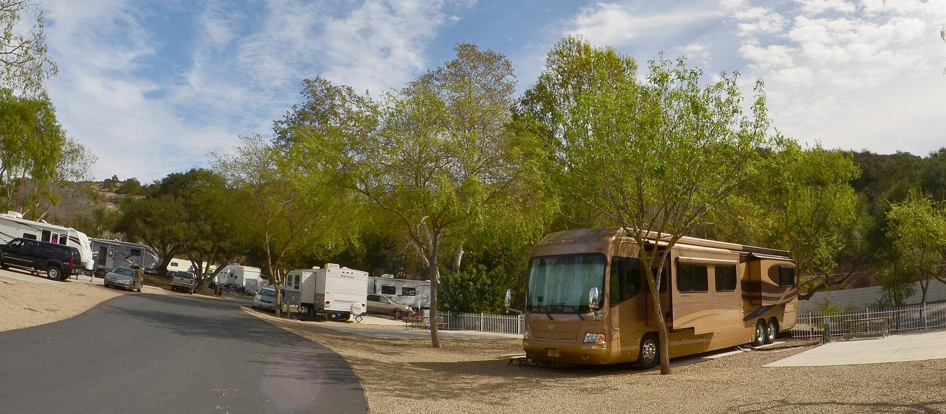 The Most Secluded And Ious Rv Park In North San Go County